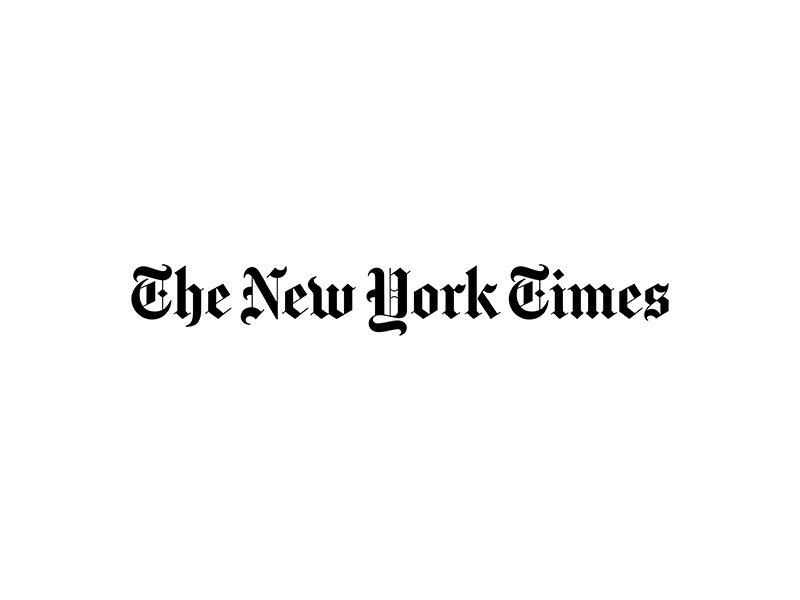 Horizontal logo for The New York Times magazine.