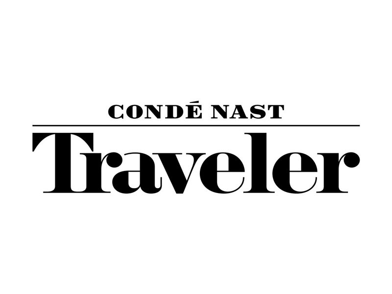 Logo for Condé Nast Traveler.