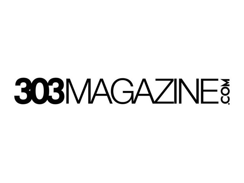 Logo for 303 Magazine