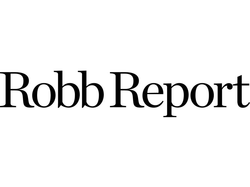 Logo for Robb Report magazine.